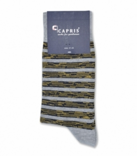 جوراب کلاسیک ساقدار Capris کاپریس کد 51 خاکستری زرد