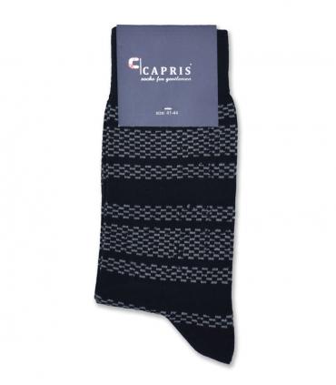 جوراب کلاسیک ساقدار Capris کاپریس کد 57 مشکی خاکستری