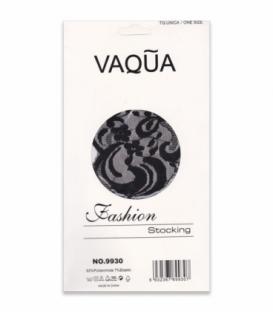 جوراب بالای ران بند دار فانتزی VAQUA کد 9930