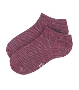 جوراب زنانه مچی نخی برند دوک گورخری رنگ قرمز