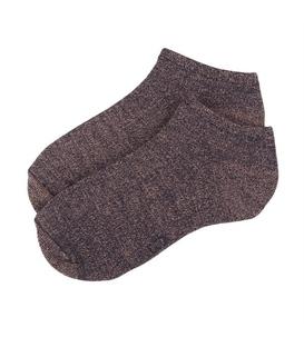 جوراب زنانه مچی نخی برند دوک گورخری رنگ خاکی