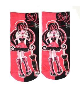 جوراب بچهگانه نخی فانتزی طرح مانستر های یک - Monster High