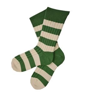 جوراب پشمی مردانه سبز سفید