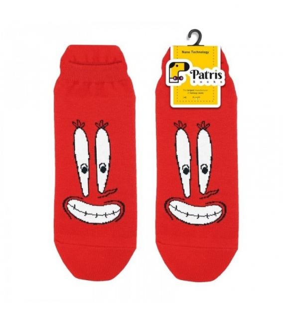 جوراب مچی نانو پاتریس طرح چرخنگ قرمز