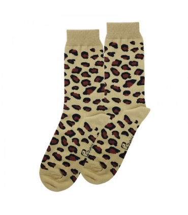 جوراب ساقدار نانو پاتریس طرح پلنگی