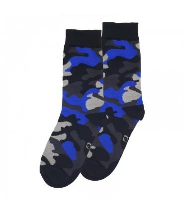 جوراب ساقدار نانو پاتریس طرح چریکی آبی