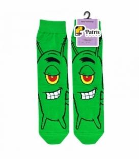 جوراب ساقدار نانو پاتریس طرح پلانکتون سبز