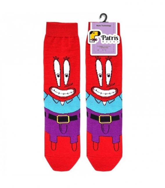 جوراب ساقدار نانو پاتریس طرح چرخنگ قرمز