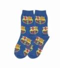 جوراب بچگانه ساقدار نانو پاتریس طرح بارسلونا سرمهای
