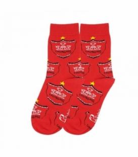 جوراب بچگانه ساقدار نانو پاتریس طرح پرسپولیس قرمز