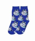 جوراب بچگانه ساقدار نانو پاتریس طرح استقلال آبی