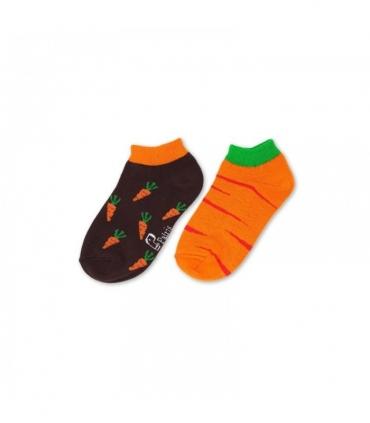 جوراب بچگانه لنگه به لنگه مچی نانو پاتریس طرح هویج