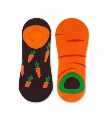 جوراب لنگه به لنگه قوزکی نانو پاتریس طرح هویج