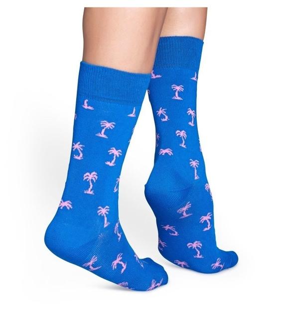 جوراب Happy Socks هپی ساکس طرح Palm Beach