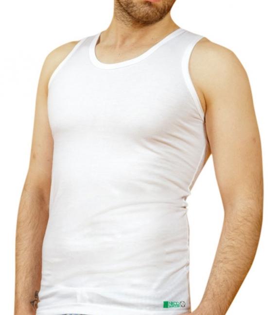 زیرپوش نخی رکابی نیکو تن پوش کد 1171 سفید