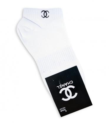جوراب مچی طرح CHANEL سفید
