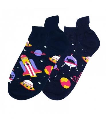 جوراب مچی نانو پاتریس طرح شاتل فضایی سرمهای