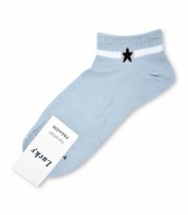 جوراب مچی طرح تک ستاره آبی