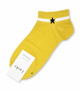 جوراب مچی طرح تک ستاره خردلی