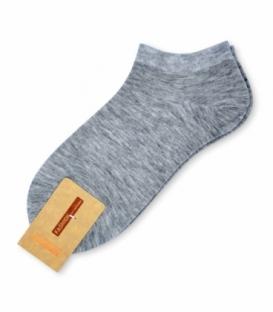 جوراب مچی ساده خاکستری