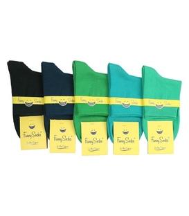 جوراب نیم ساق فانی ساکس طیف سبز - یک جفت