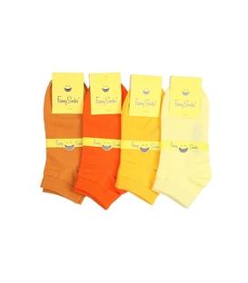 جوراب مچی فانی ساکس طیف نارنجی - یک جفت