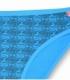 شورت اسلیپ نخی نیلی کد 410 طرح لوزی آبی