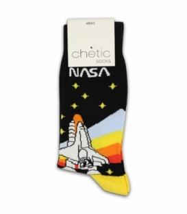 جوراب ساقدار Chetic چتیک طرح ناسا رنگی