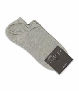 جوراب قوزکی Chetic چتیک ساده خاکستری