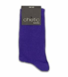 جوراب ساقدار Chetic چتیک ساده بنفش