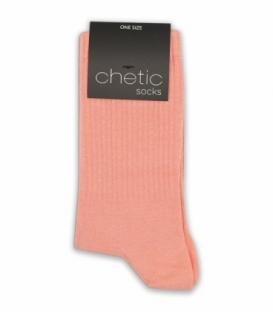جوراب ساقدار Chetic چتیک ساده گلبهی