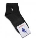جوراب نیم ساق طرح Polo مشکی