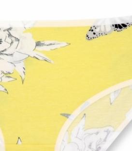 شورت اسلیپ نخی Misspel میسپل کد 446 طرح گل درشت زرد
