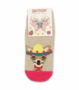 جوراب مچی Ekmen اکمن طرح کانگورو مکزیکی کرم