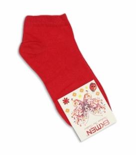 جوراب مچی Ekmen اکمن ساده قرمز