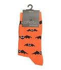 جوراب ساق دار Chetic طرح خفاش نارنجی