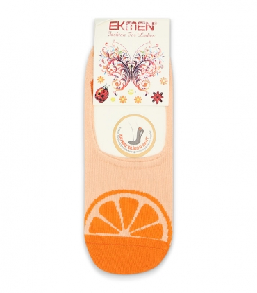 جوراب کالج Ekmen اکمن طرح پرتقال نارنجی