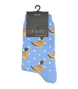 جوراب Chetic چتیک طرح اردک آبی