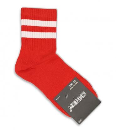 جوراب نیم ساق Ekmen اکمن طرح دو خط قرمز