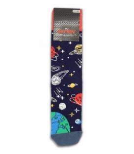 جوراب ساقدار Ekmen اکمن طرح کهکشان B سرمهای