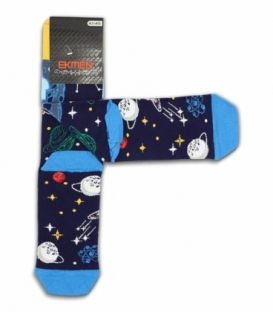 جوراب ساقدار Ekmen اکمن طرح کهکشان C سرمهای