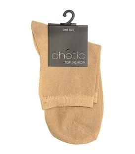 جوراب Chetic چتیک لمهای گلبهی روشن