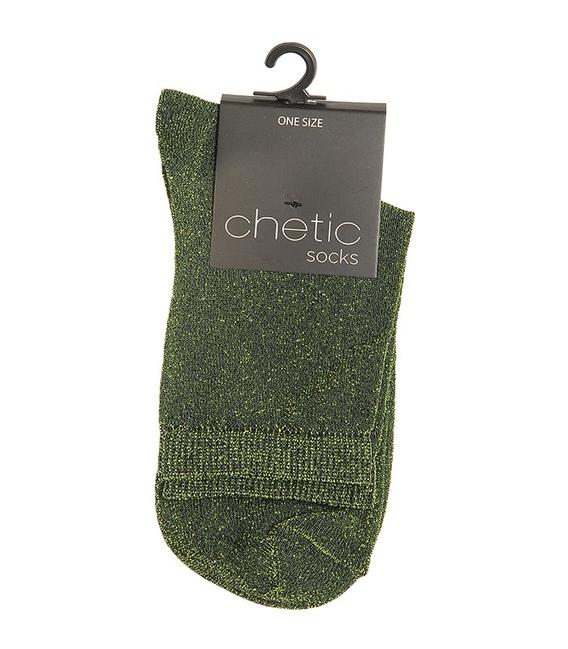 جوراب Chetic چتیک لمهای سبز روشن
