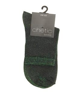 جوراب Chetic چتیک لمهای سبز تیره
