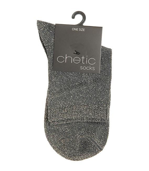 جوراب Chetic چتیک لمهای خاکستری روشن