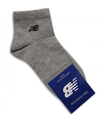 جوراب نیم ساق طرح New Balance خاکستری