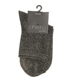 جوراب Chetic چتیک لمهای خاکستری تیره