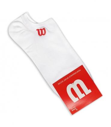 جوراب قوزکی طرح Wilson سفید