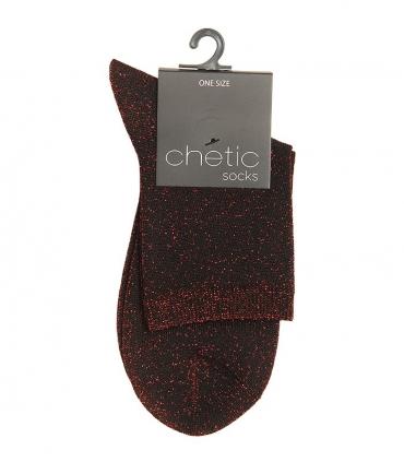 جوراب Chetic لمهای قرمز ساده