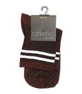 جوراب Chetic چتیک لمهای قرمز خط دار